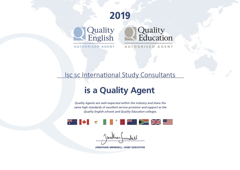 Certifikat Quality English